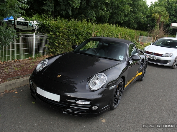 Photos du jour : Porsche 911 997 Turbo S