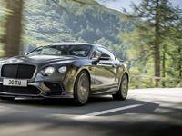 Bentley dévoile la Continental Supersports