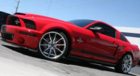 Mustang Shelby GT500 Super Snake en vrai
