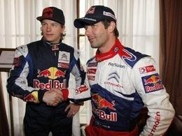 Loeb et Räikkönen sur la 908 Hybrid4 au Test Day