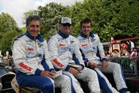 Le Mans 2007 : la parade des pilotes Saulnier Racing