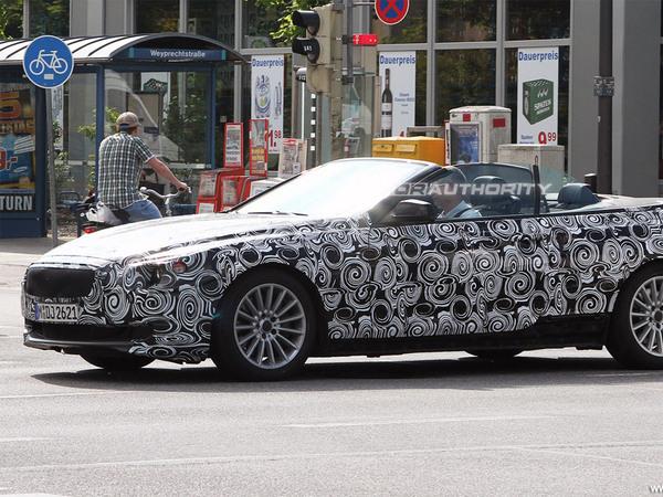Oh la belle Volvo C70 ... euh non, BMW Serie 6 Cabriolet !