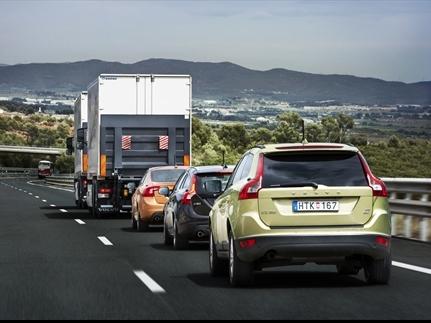 Première - Volvo teste son convoi automatisé sur route ouverte