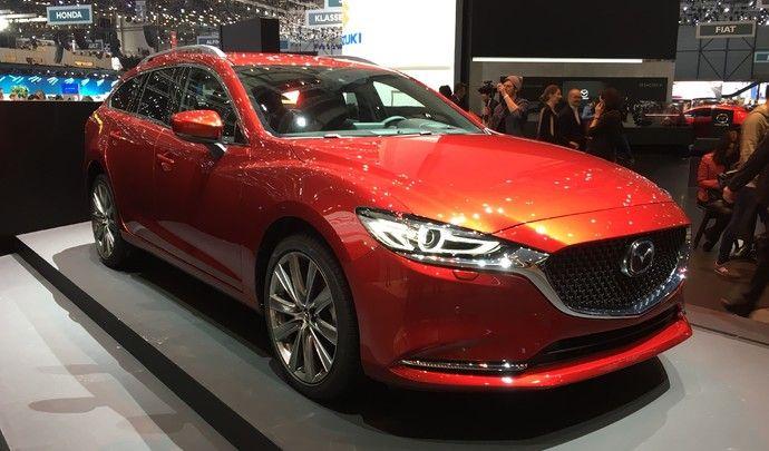 Mazda 6 break restylé: peaufiné - Vidéo en direct du salon de Genève 2018