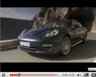 Nouvelle Porsche Panamera en vidéo