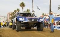 Les débuts du VW Touareg Trophy Truck en compétition
