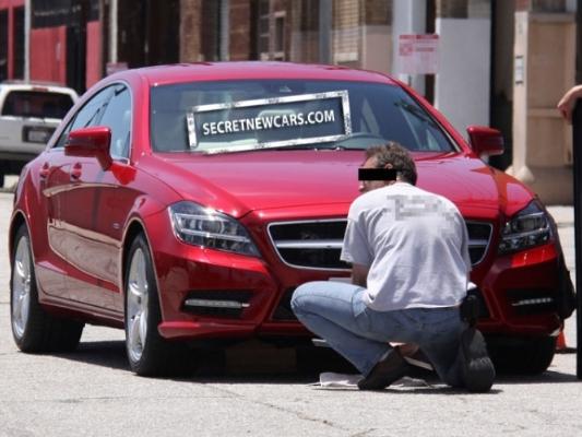 Future Mercedes CLS : toujours plus près