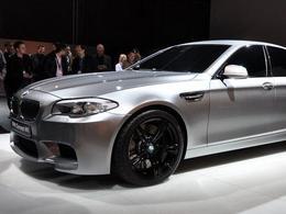 BMW M5 Concept: 1ères images!