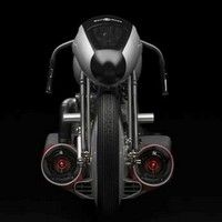 Concept bike B-Rocket: rencontre entre l'horlogerie de luxe, l'aviation et la moto.