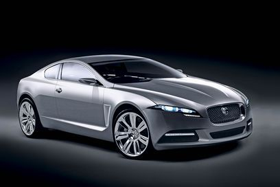 Jaguar XF Coupé : like that ?