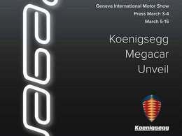 Salon de Genève 2015 – Koenigsegg Regera, megacar