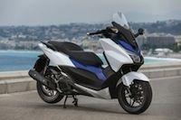 Salon de la moto: Honda est heureux de son scooter Forza