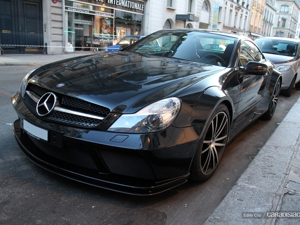 Photos du jour : Mercedes SL 65 AMG Black Series