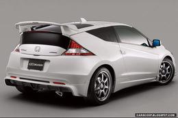 Honda CR-Z : déjà la griffe Mugen