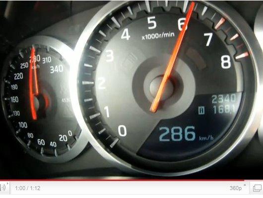 [vidéo] un 0-286 km/h en Nissan GT-R 2011 (attention, ça va vite)