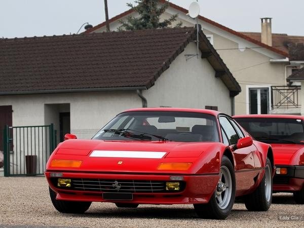 Photos du jour : Ferrari BB512i (Cars and Coffee Paris)