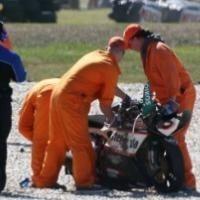 Superbike - Phillip Island: Fracture suspectée pour Biaggi