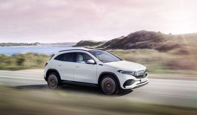 Mercedes EQA (2021) :à partir de 44 900 €