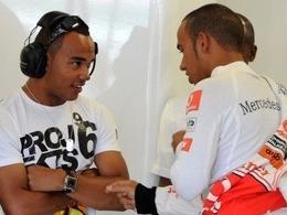 Lewis Hamilton fier de son frère
