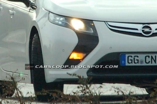 Spyshot : l'Opel Ampera sur la route
