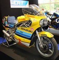 Salon Moto Légende 2015: l'expo Suzuki.