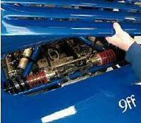 Porsche 9ff GT9: casser de la Veyron avec 987 ch