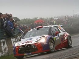 Robert Kubica sur une Citroën DS3 WRC aux Wales Rally GB!