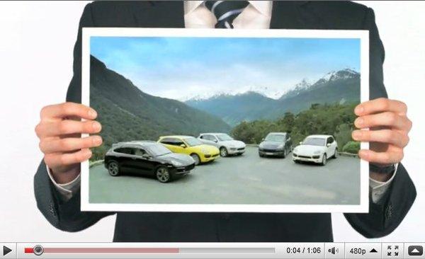 [vidéo] Le nouveau Porsche Cayenne s'anime en 6 vidéos