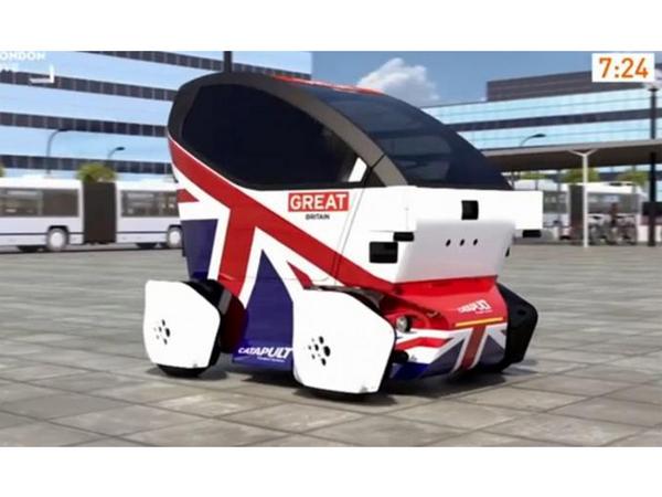 L'Angleterre autorise la circulation des véhicules autonomes de développement sur ses routes