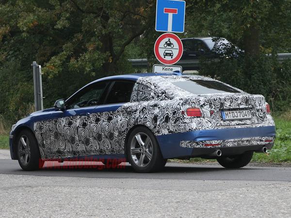 Surprise : la BMW Série 4 Gran Coupé presque nue