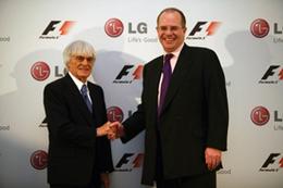 LG signe un partenariat de 5 ans avec la F1