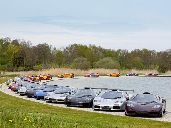 McLaren fête 20 ans de F1 (la voiture, bien sûr)