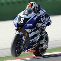 Moto GP - San Marin D.3: Jorge Lorenzo a mis la gomme