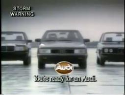 Rétrospective pub: le combat sans fin entre Audi et BMW