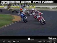 Supermotard 2011, championnat d'Italie Casteletto di Branduzzo: Thomas Chareyre remporte le championnat (vidéo)