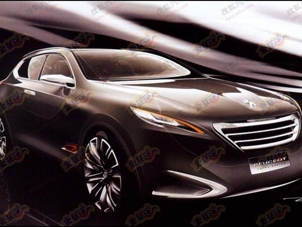 Shanghai 2011 : un crossover Peugeot en approche