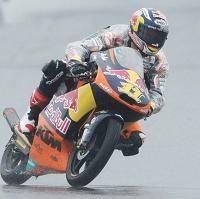 Moto 3 - Allemagne Qualifications: Une pluie de bonheur pour Sandro Cortese