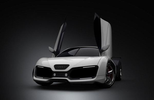 Design : Audi RS7 Concept par Adriano Mudri