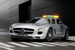 La Mercedes SLS AMG devient le Safety Car F1 2010
