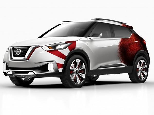 Nissan relooke son SUV Kicks Concept dévoilé en 2014