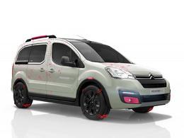 Toutes les nouveautés du salon de Genève 2015 –  Citroën Berlingo Mountain Vibe Concept