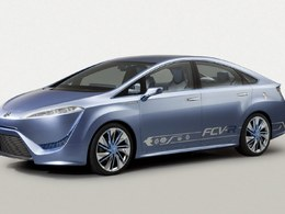 Le futur véhicule hydrogène Toyota se dévoile un peu plus