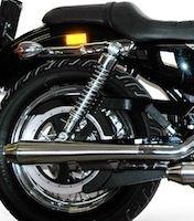Termignoni: des silencieux coniques pour Harley-Davidson Sportster
