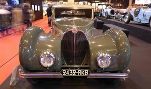 Rétromobile 2017 : le rapprochement Bugatti et Bentley