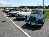 Saab : l'essai de tous les modèles historiques de la marque en Suède