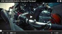KTM 1290 SuperDuke R: naissance en vidéo