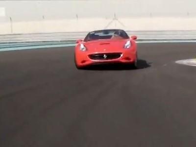[Vidéo] Une Ferrari California en glisse sur le circuit d'Abou Dhabi, simplement