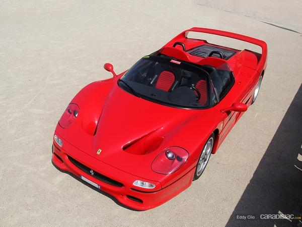 Photos du jour : Ferrari F50 (KBRossocorsa day IX)