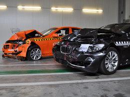 BMW Serie 5 : elle passe le crash-test avec son système anti-collision et ça change tout