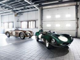 Jaguar partenaire de Le Mans Classic